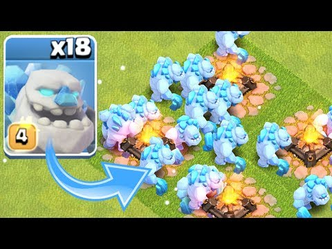 ALL ICE GOLEM RAID!