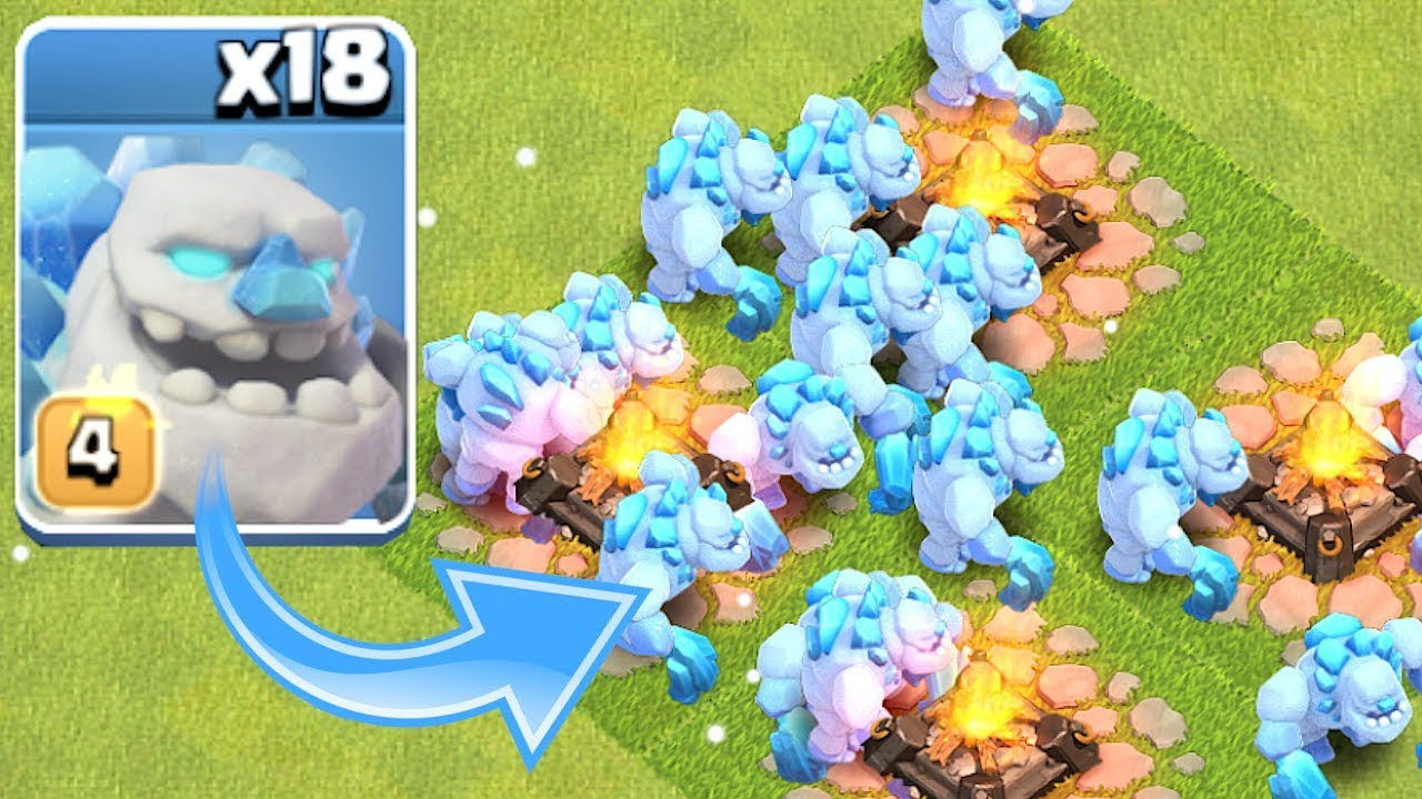 all ice golem raid