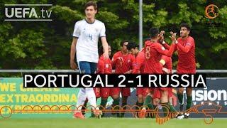 #U17 Highlights: Portugal 2-1 Russia