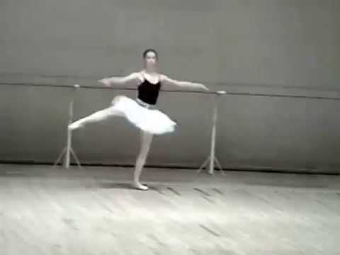 Ekaterina Krysanova 32 fuettes - student of the Moscow Ballet Academy