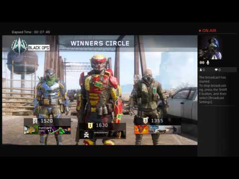 Broadcasting call of duty black opps3