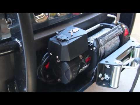 Hummer H3 Smittybilt Winch Installation