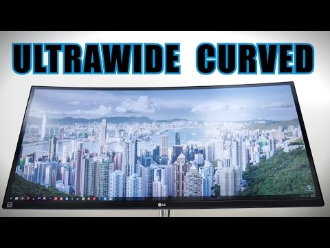 "LG 34"" Ultrawide Curved Gaming/Work Monitor - Review (34UC97)"