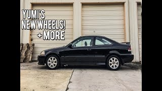 homepage tile video photo for NEW WHEELS, RHD CLIP & READY TO SWAP! - EJ8 Civic Build