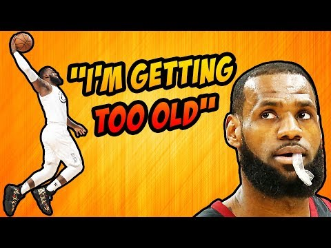 LeBron Says He'll NEVER Do The Dunk Contest