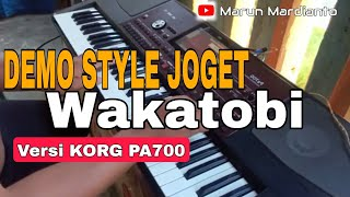 Contoh Style Joget Wakatobi Versi KORG PA700