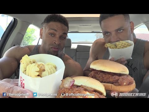 Cheat Meal at Chick-fil-A @hodgetwins