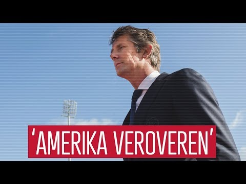 Van der Sar hoopt met Ajax Amerika te veroveren