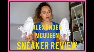 ALEXANDER MCQUEEN SNEAKERS REVIEW / MCQUEEN TRAINERS | CA$$IE THORPE