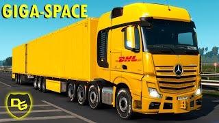 Euro Truck Simulator 2 Schwerlast #6 - Der Giga Space mit Giga Anhänger! - Daniel Gaming - ETS 2 DLC