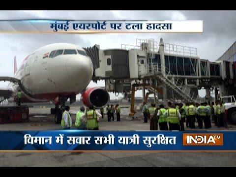 Riyadh Bound Air India Flight Hits Aerobridge at Mumbai Airport