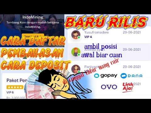 BARU RILIS !! INDOMINING PENGHASIL UANG BANK EWALLET