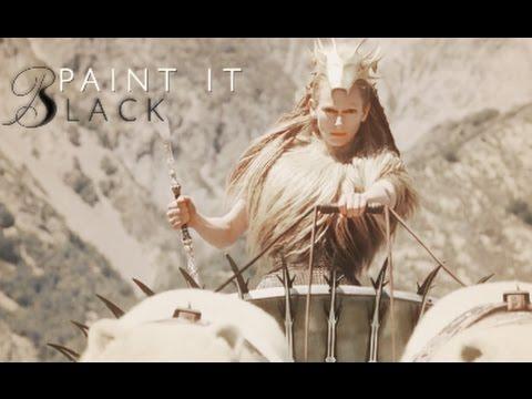Multifandom | Paint It Black