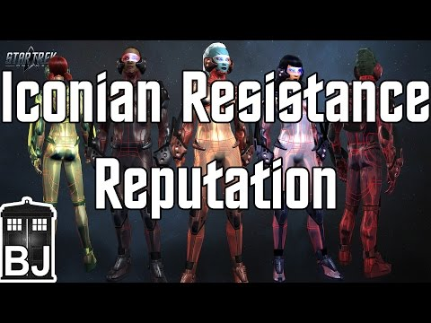 Star Trek Online - Iconian Resistance Reputation