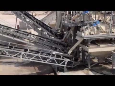 Qatar Aggregate washing plant