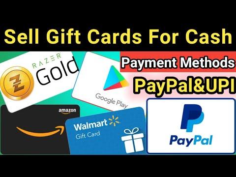 Sell Gift Cards For Cash| Sell Any Gift Card To Me Like Amazon,google Play, Walmat | Burner Guruji