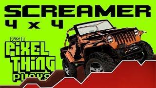 SCREAMER 4x4: Rock Crawling! [PC] | Pixel THING plays!