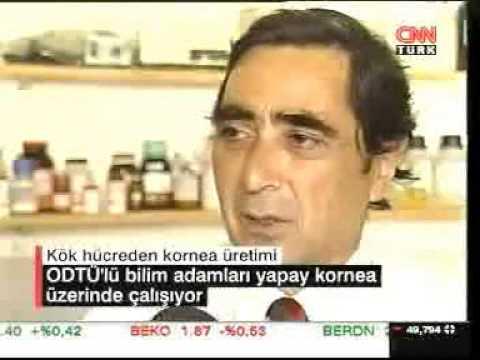 Interview with Prof. Dr. Vasif Hasirci about cornea tissue engineering