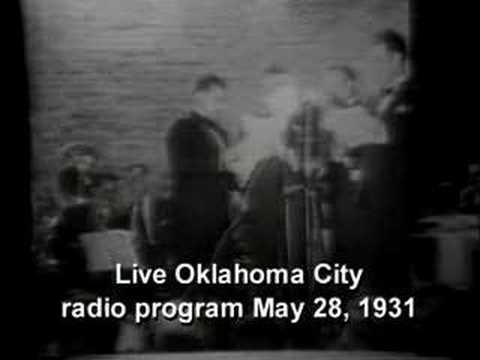 Oklahoma Moment--1931 Live Radio Show
