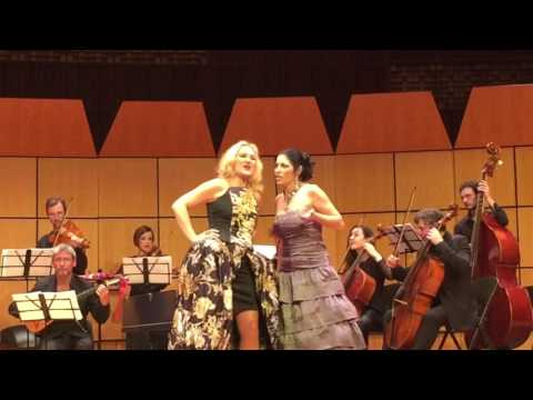 Vivica Genaux-Simone Kermes İstanbul Concert 12.01.2017 ABBA encore