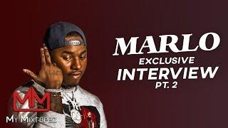 "🎥 Atlanta's next superstar ""Marlo"" talks recording with Young Thug [Part 2]"