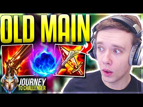 MY OLD ONE-TRICK IS FINALLY META AGAIN!!!!!! 200 IQ BUILD - Journey To Challenger | LoL