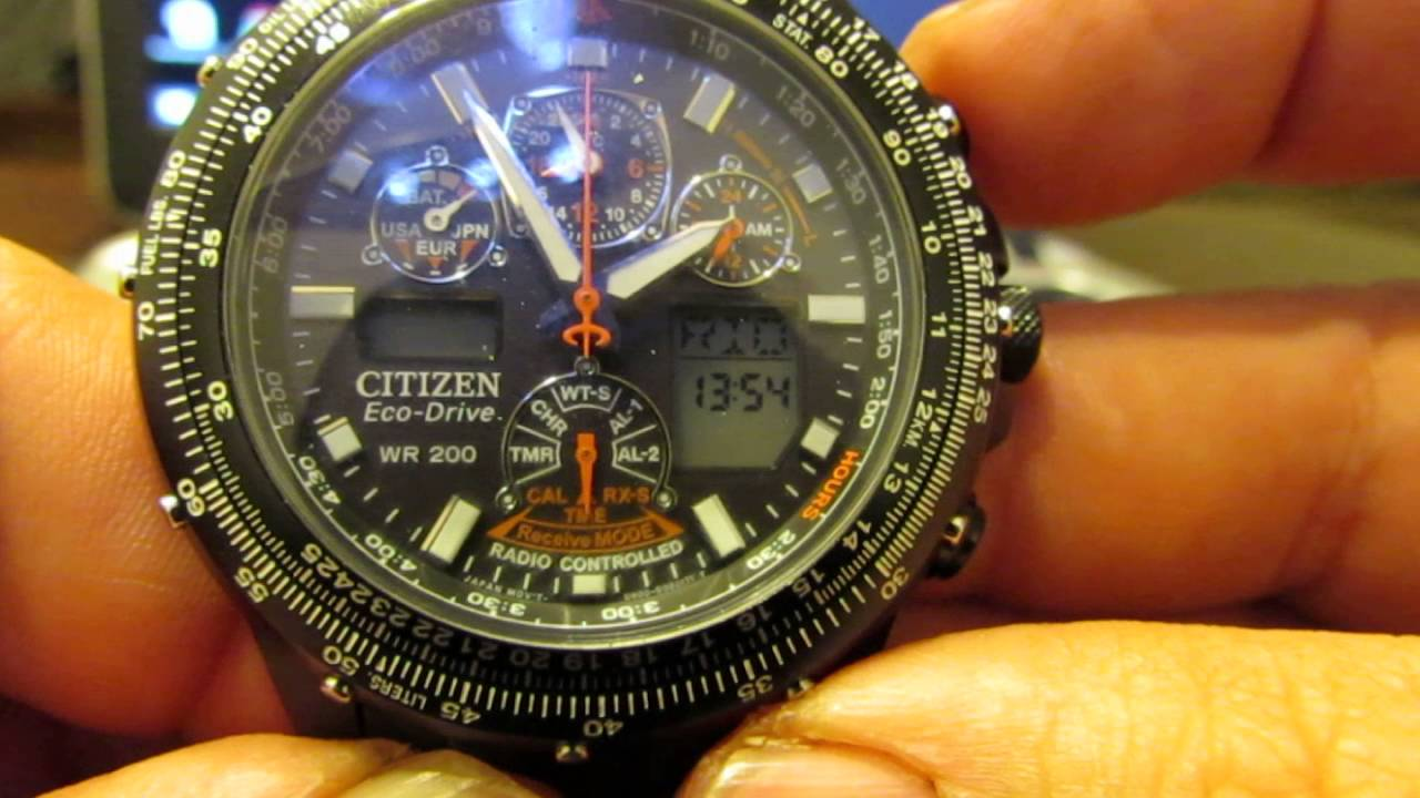 Citizen watch recharging guide | citizen.