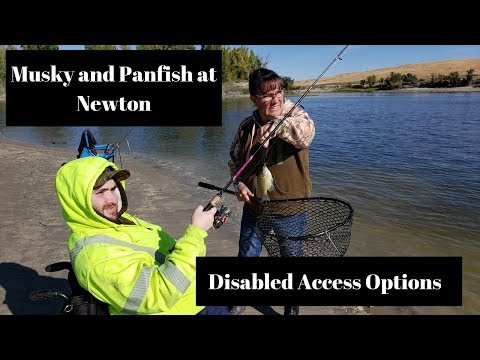 Catching Musky And Panfish At Newton Utah - Disabled Access Options