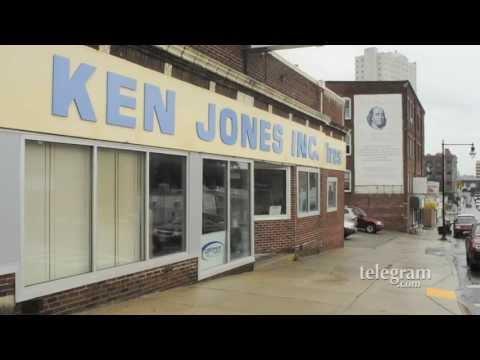 Steve Jones, president, Ken Jones Tires, Worcester, MA