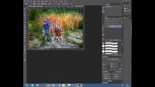 Фотошоп видеоуроки Как разрезать Фото на несколько равных частей