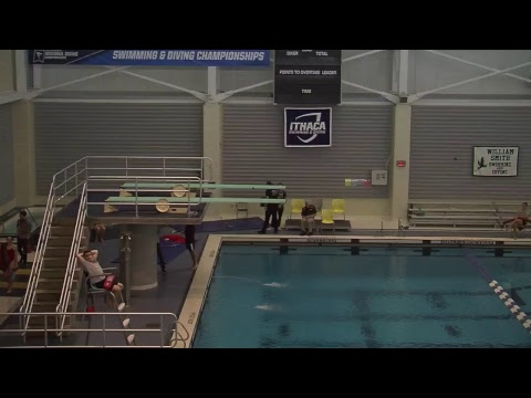 Liberty League Women's 3-meter Diving Preliminaries