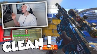 THAT WAS SO CLEAN! (STILL ANGRY LOL) BO2 Trickshotting