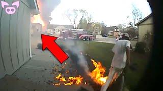 Scary Doorbell Camera Videos Leaked