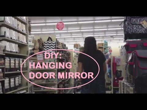 DIY: HANGING DOOR MIRROR FOR YOUR ROOM (PINTEREST INSPIRED)