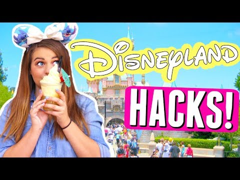 DISNEYLAND LIFE HACKS!! TOP 10 DISNEY PARK SECRET HACKS!