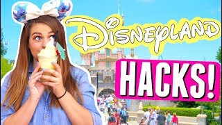 DISNEYLAND Life Hacks!! Top 10 Disney Park Secret Hacks!