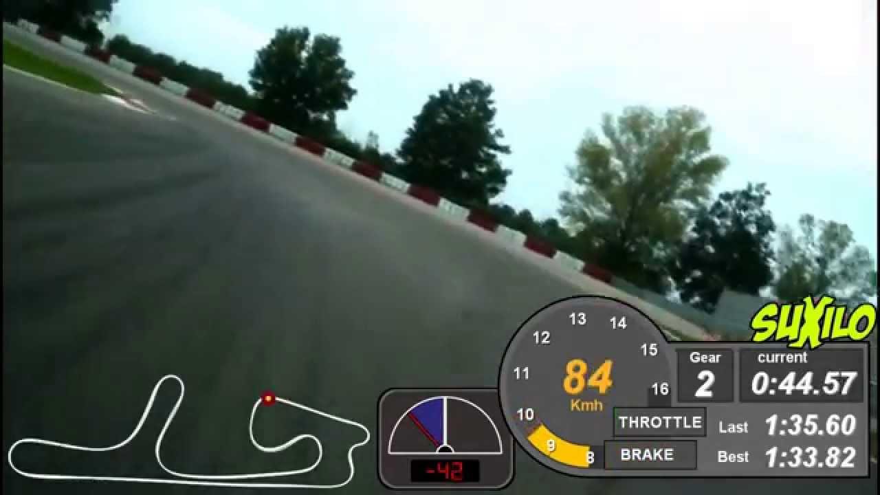 On Board Camera Yamaha R6 Cremona Circuit - YouTube