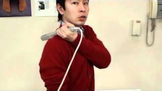 三井式温熱療法 肩・胸