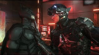 Batman: Arkham Knight (PC)(The Dark Knight Suit Walkthrough)[Part 16] - Arkham Knight HQ