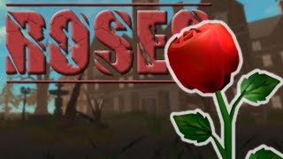 🌹 SCARY INSANE ASYLUM in Roblox Horror Game ROSES - Full 3 Chapter Gameplay