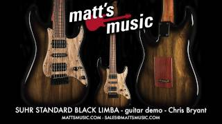 Matt's Music - Suhr Standard Black Limba Guitar - Chris Bryant