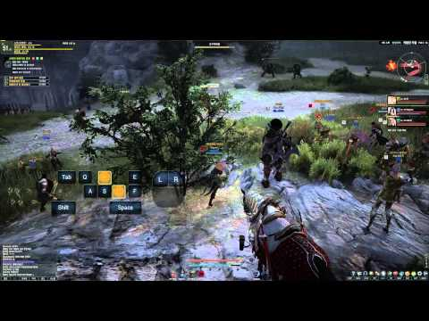 Black Desert Online High Level PvP GvG Battle 2nd Beta HD