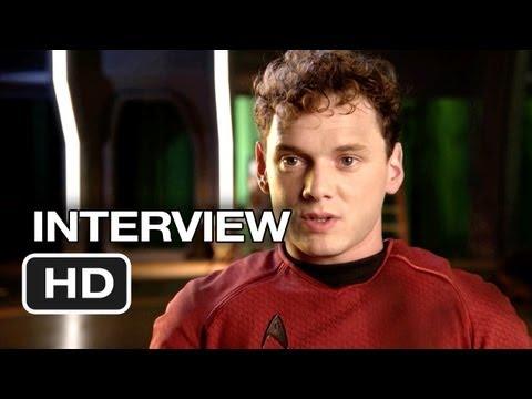 Star Trek Into Darkness Interview - Anton Yelchin (2013) - Chris Pine Movie HD
