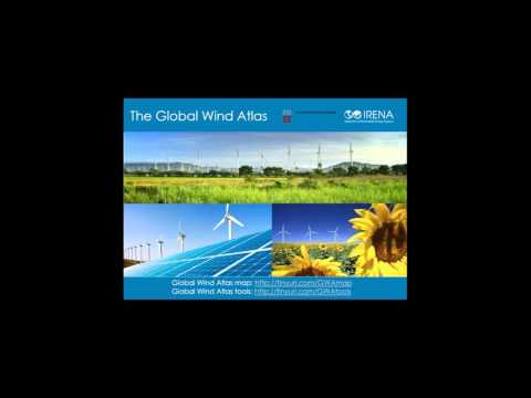 Webinar: Launch of the Global Wind Atlas, presented by IRENA and DTU