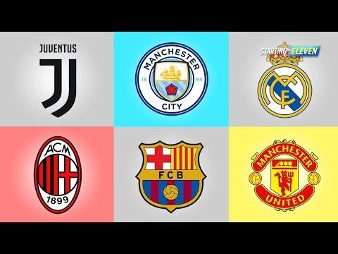 30 Logo Klub Sepakbola Dunia Dari Masa ke Masa Berikut Klub klub nya : Arsenal, Ac Milan, As Roma, A.