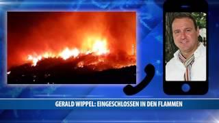 Gerald Wippel: Eingeschlossen In Den Flammen