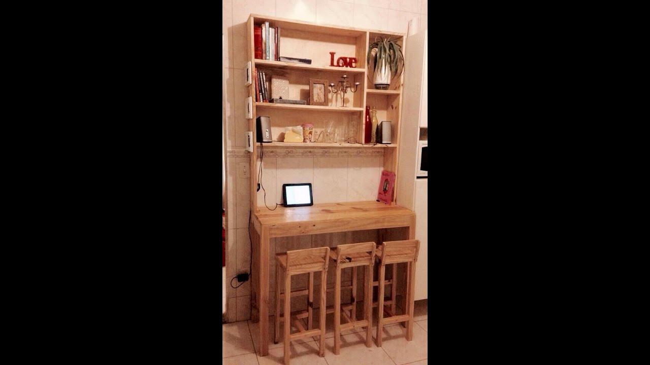 Adesivo De Kombi ~ Armário para cozinha feito de madeira YouTube