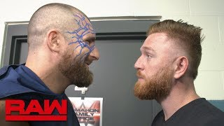 Mojo Rawley confronts Heath Slater before Raw: WWE Exclusive, June 24, 2019