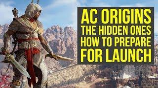 Assassin's Creed Origins The Hidden Ones HOW TO PREPARE (AC Origins Hidden Ones - AC Origins DLC)