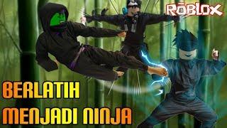 Roblox Indonesia | Hot Ninja | Practice Being A Ninja Wak Waw!! 😱😱😱